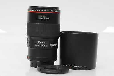 Canon EF 100mm f2.8 L IS Macro USM Lens 100/2.8                             #503