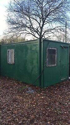 Portable Site Office With Toilet Etc 16'