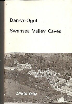 DAN-YR-OGOF SWANSEA VALLEY CAVES OFFICIAL GUIDE c.1960