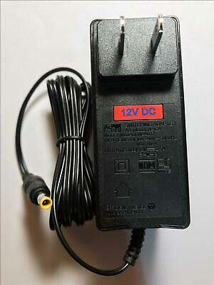 USA 12V 2.5A AC-DC Adaptor for Humax FVP- 4000T 1TB Freeview Play HD TV Recorder