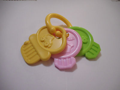 Baby Babies My First Plastic Keys Keyring Toy - Brand New!