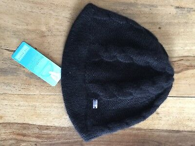 WOMEN S LADIES TED Baker black cable knit hat BNWT - £12.00 ... 720d011530e2