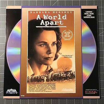 A World Apart Laserdisc - Ld