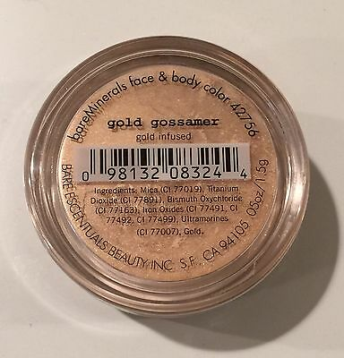 Bare Minerals GOLD GOSSAMER Full Size Blush Factory Sealed