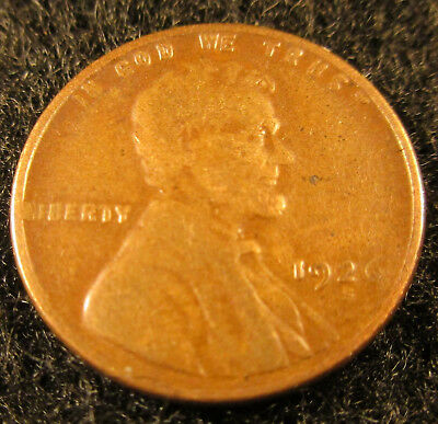 1926-S Lincoln Wheat Cent-Penny     Great Coin          12071831