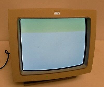 Vintage Ibm Rt Pc 6155 (4768) Extended Monochrome Graphics Display Monitor