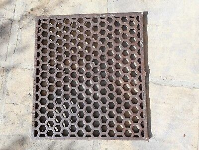 Reclaim Architectural Cast Iron Floor Grate Grill Vent Large