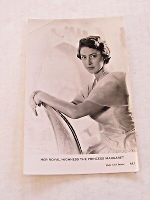 Vintage RPPC Her Royal Highness The Princess Margaret by Cecil Beaton