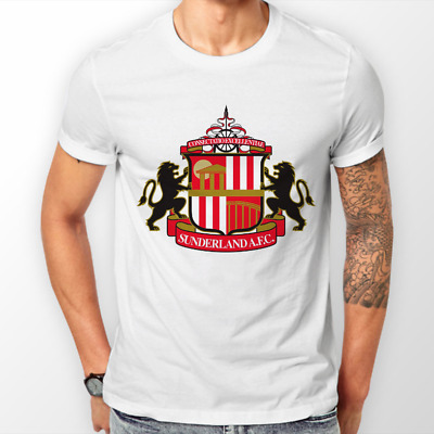 Sunderland AFC Official Football Gift Mens Crest Polo Shirt