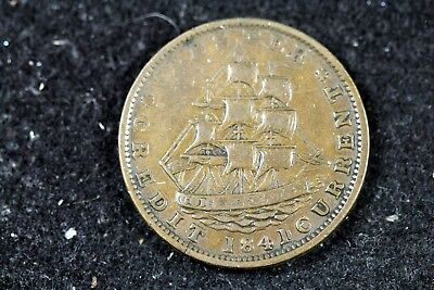 1837 - Hard Times Token Millions for Defence Not One Cent For Tribute! #H18002