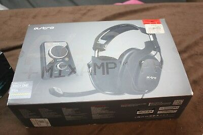 ASTRO Gaming A40 TR Headset + MixAmp Pro TR for PS4, PS3, PC - Used