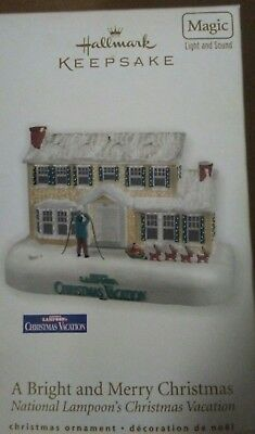 Christmas Vacation 2010 Hallmark Ornament Griswold House Cousin Eddie
