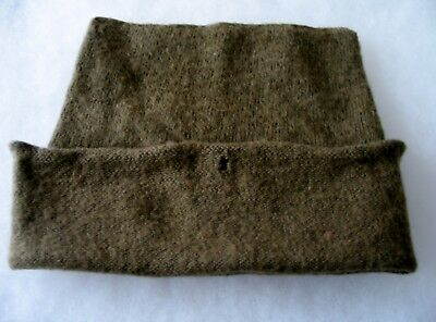 WWII British Canadian Knit Commando Hat Cap