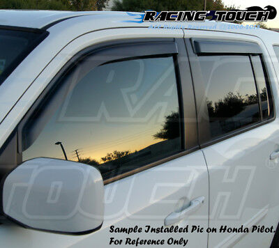 Outside Mount Rain Guards Sun Visor Deflector /& Sunroof 5pcs 11-14 Chrysler 200