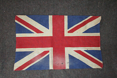 "WW1 Period British Union Jack Parade-Size (11-1/2""x17-3/4"") Flag"