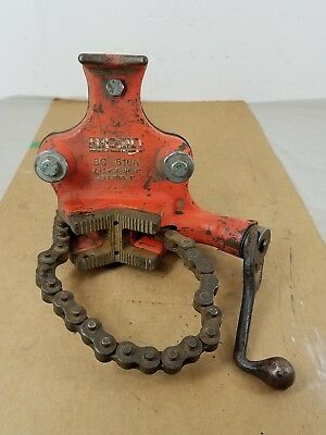 "Ridgid BC-610A Pipe Vise 1/4"" - 6"" ~ 1"" Pipe Bend with 2"" Hitch Mount"