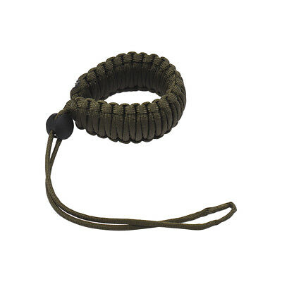 Adjustable Braided Paracord Camera Wrist Strap Lanyard for Canon Nikon W6Y9