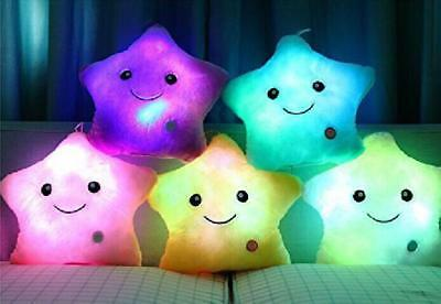 Calming Autism Sensory LED Light-Up Pillow Colour Changing Mood Cushion Relax