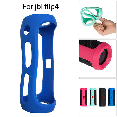 For Jbl FLIP 4 Bluetooth Speaker Portable Mountaineering Silicone Case Durable