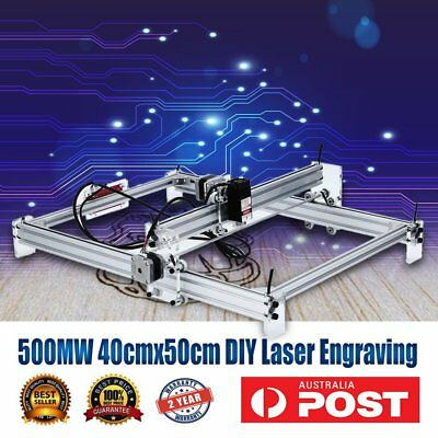 500MW 40cmx50cm DIY Laser Engraving CNC Carving Engraver Carved Printer Machine