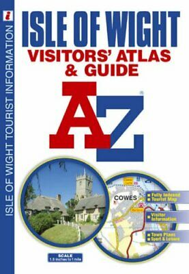 Isle of Wight Visitors' Atlas and Guide Paperback Book The Cheap Fast Free Post
