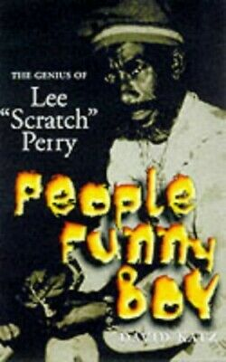 "People Funny Boy: The Genius of Lee ""Scratch"" Perry by Perry, Lee Hardback Book"