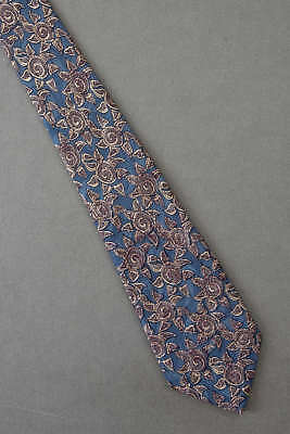 Stylized Sun Allover - Mens Blue Astronomy Tie Necktie