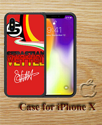 Sebastian Vettel 5 Pattern Style Hard Case Cover for iPhone X XS XR XS Max