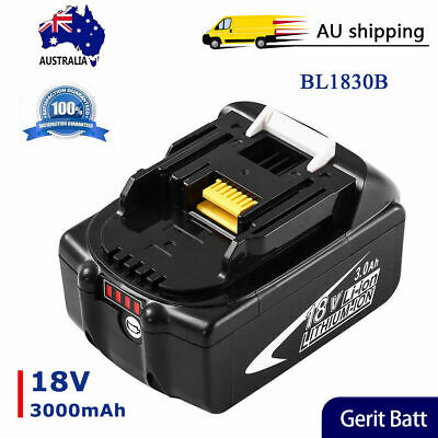 BL1830 Replace for Makita 18V Battery 3.0Ah LXT Lithium ion BL1860 BL1850 BL1840