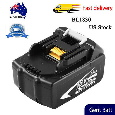 BL1830 3.0Ah Replace for Makita 18V Battery LXT Lithium-Ion BL1860 BL1850 BL1840