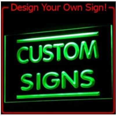 tm ADV PRO Custom Neon Light Sign Order (Design your own sign)