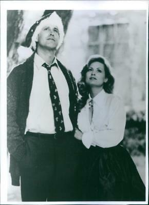 Chevy Chase and Beverly D'Angelo in a scene from the movie National Lampoon's Ch