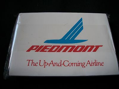 Lot Of 5 (Five) Unused Nos Piedmont Airlines Tissue Packs Unopened Free Shipping