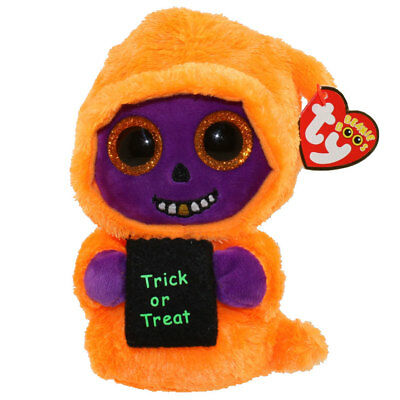 TY Beanie Boos - SKELTON the Ghoul (Glitter Eyes) (6.5 inch) - MWMTs Boo Toy