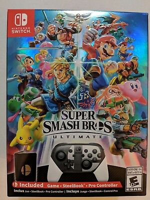Nintendo Switch Super Smash Bros. Ultimate Special Edition |BRAND NEW SEALED