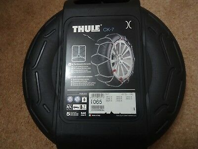 THULE KONIG SNOW CHAINS CK-7 - Size 065 - NEW