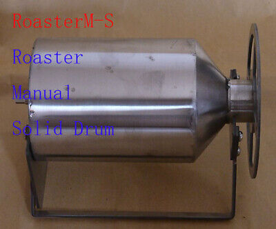 coffee bean roaster on top of gas stove or BBQ grill or wood fire,size of 7 oz