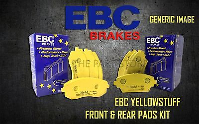 Ebc Yellowstuff Front + Rear Brake Pads Kit Set Performance Pads Padkit2487