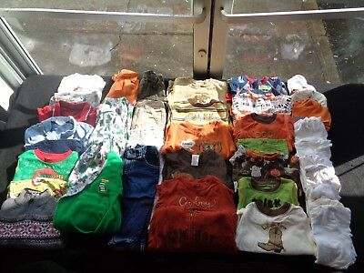 Baby Boys Clothing Lot Size 12-18 Months
