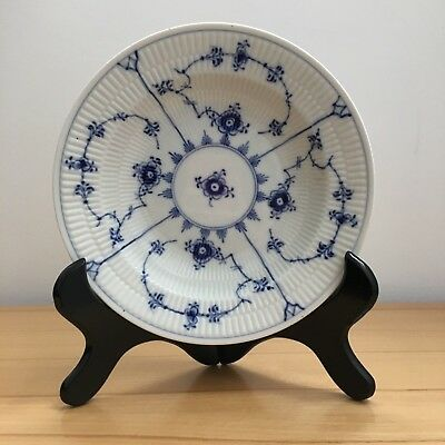 Royal Copenhagen blue fluted soup plate 1-68 musselmalet porcelain