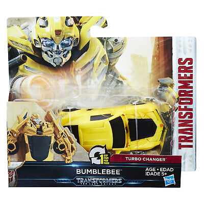 Transformers The Last Knight BUMBLEBEE Cyberfire 1-Step Turbo Changer by Hasbro