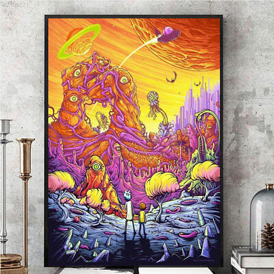 8747 8505 Silk Cloth 40x60cm New Painting Wall Picture TV Show Home Poster Print