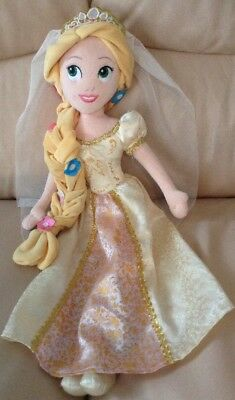 Disney Store Wedding Rapunzel Soft Toy