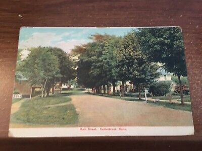 CT Centerbrook SECTION OF ESSEX  CONN MAIN ST. 1908