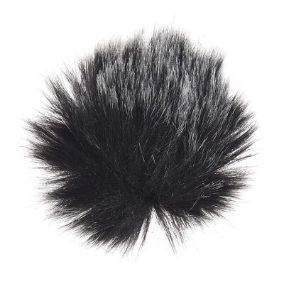 Andoer Furry Outdoor Microphone Windscreen Muff Mini Lapel Lavalier K1I9
