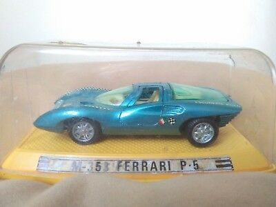Antigua miniatura 1:43 Pilen M-353 Ferrari P5. Made in Spain.