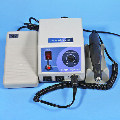 Dental Lab Micro Motor Marathon Machine N7 Control & 35K RPM Polishing Handpiece