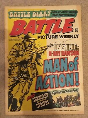 BATTLE PICTURE WEEKLY issue #29 : 20 Sep 1975 - classic boys' war comic