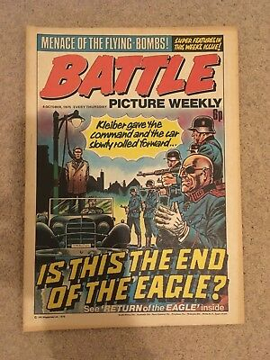 BATTLE PICTURE WEEKLY issue #31 : 4 Oct 1975 - classic boys' war comic