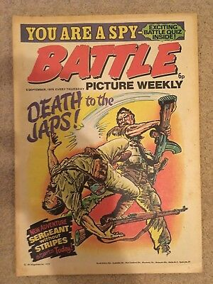 BATTLE PICTURE WEEKLY issue #27 : 6 Sep 1975 - classic boys' war comic